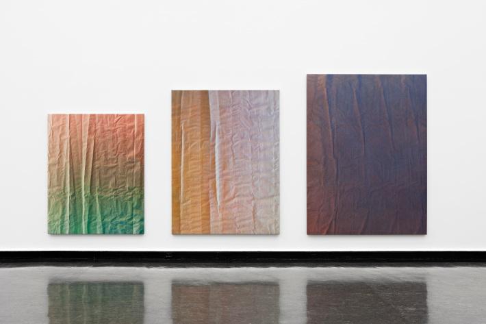 """Exposition """"Tetrachromat"""", à la Kunsthalle de Bergen, 2011."""