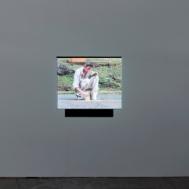 Francis Alÿs, « Painting / Retoque », 2008. Photo : Aurélien Mole© ; courtesy Palais de Tokyo.