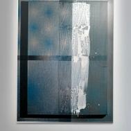 """Nathan Hylden, """"Untitled"""", 2010. Acrylique sur aluminium. Photo : Aurélien Mole© ; courtesy Palais de Tokyo."""