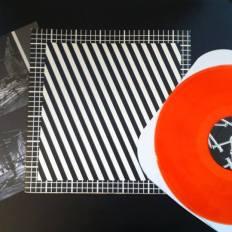 "New Humans + Philippe Decrauzat, ""Undercover"", 2007 Color vinyl, 12''"