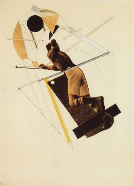 """El Lissitzky, collage pour """"Six Tales with Easy Endings"""" de Ilya Ehrenburg (Илья Эренбург «Шесть повестей о легких концах»), 1922"""
